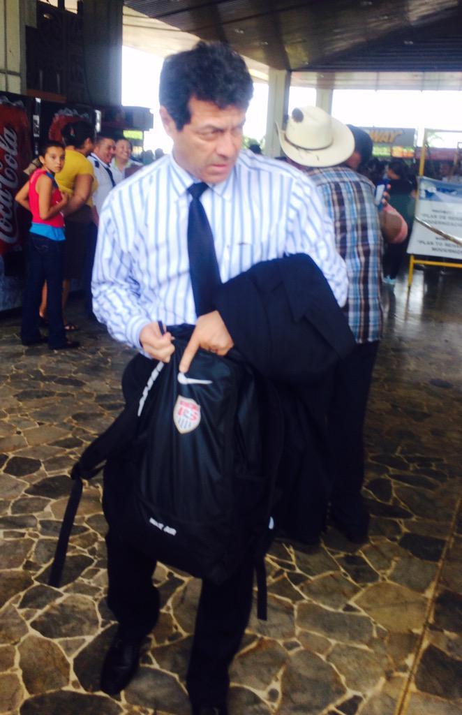 """Jorge """"el zarco"""" Rodriguez es el nuevo tecnion de La Seleccion Nacional. CNR5V9bUYAEquGD"""