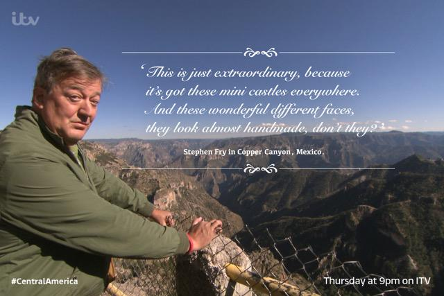 All aboard the old American school bus! @StephenFry in #CentralAmerica, starts in Mexico: Thursday 9pm @ITV. ¡Holà! http://t.co/jUtcZZEEYU