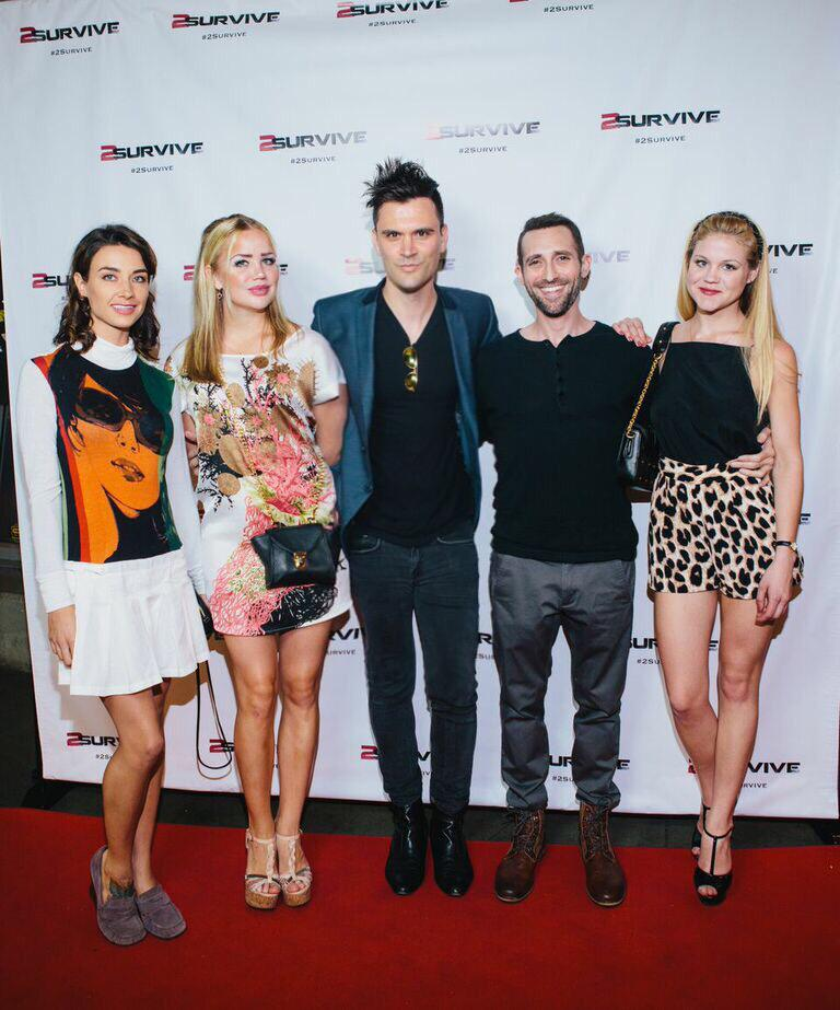 Happy Birthday Steve Sirkis!! (With Kash Hovey and Cortney Palm at event 2Survive) @TheThumbMovie @2_SURVIVE