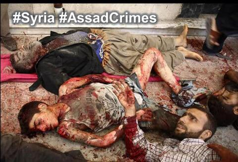 Those who see only #ISIS & pretend not to see Assad's daily massacres are guilty of genocide. Syria http://t.co/TmeC1sBYgJ