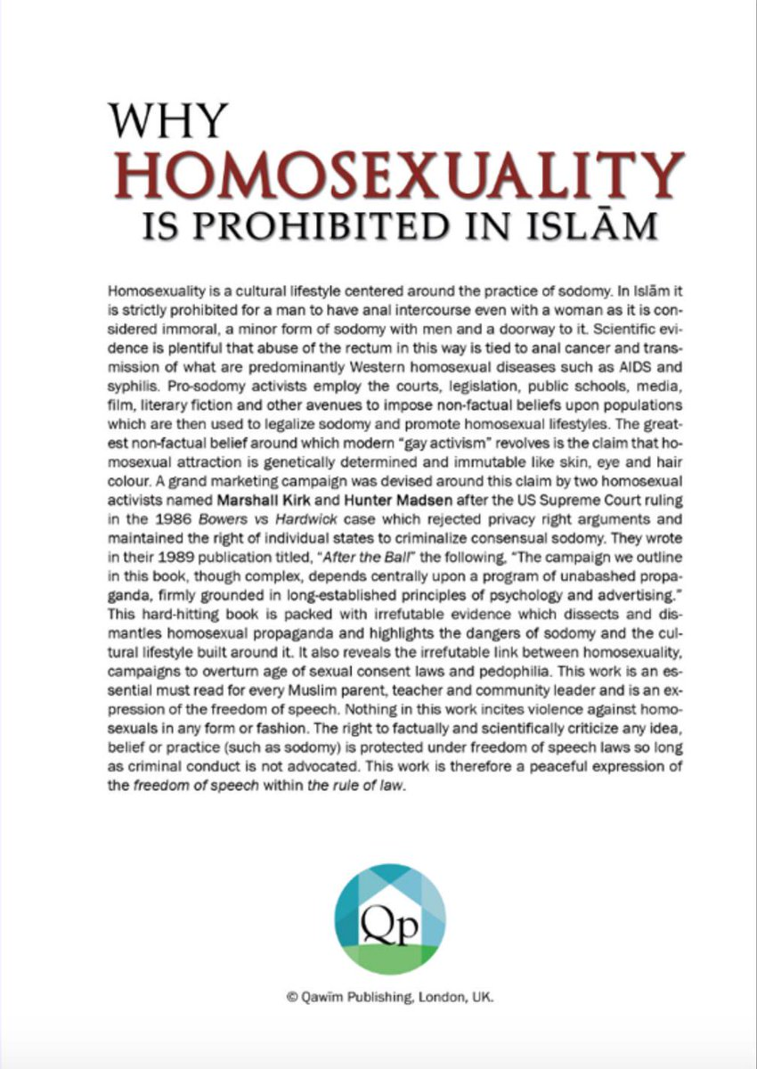 homosexuality in islam In islam, there is a solid basis for respect and acceptance of diversity—including sexual diversity although historically many muslim law-makers forbade homosexual acts, it is important to remember that islamic law is not the word of god.
