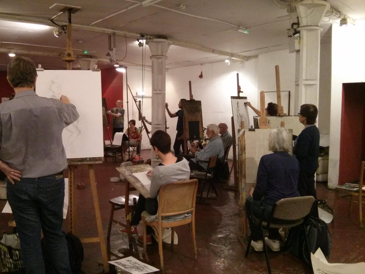 Life Drawing Classes Candid Arts