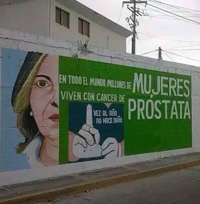 cáncer de próstata tanto como grafitis