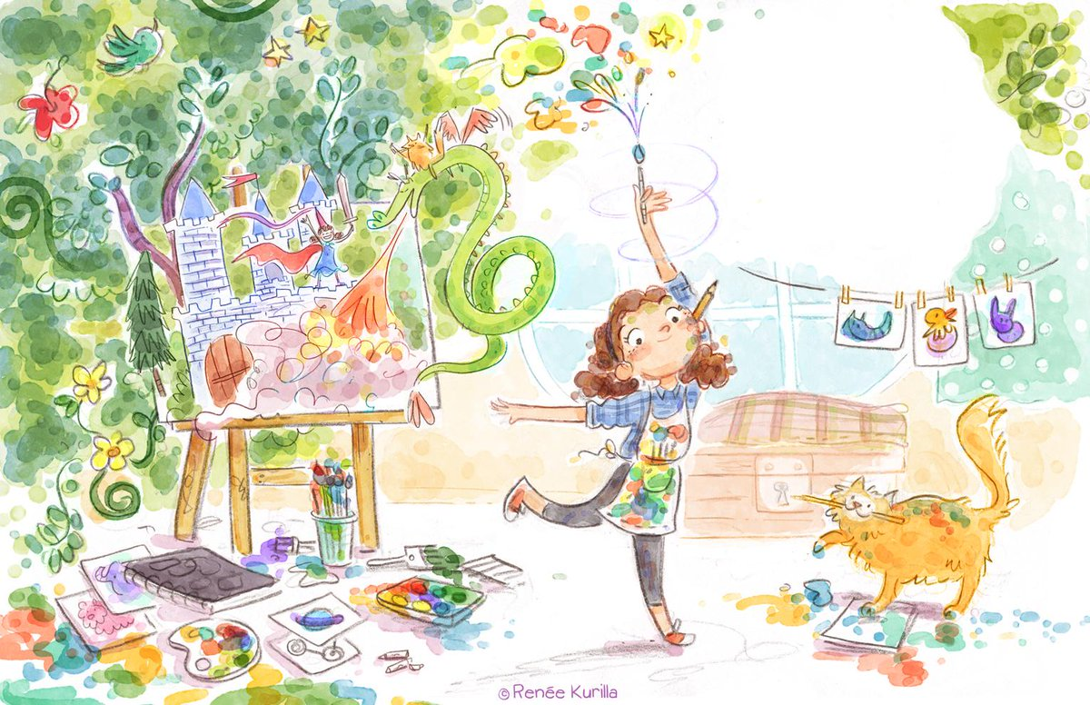 Her art speaks for itself! #kidlitart http://t.co/WsiL9C1Svg