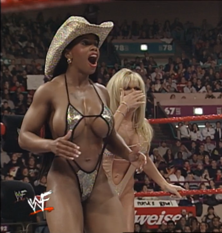 Real jacqueline topless wwf
