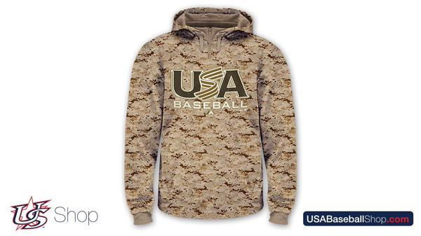 Followers who RT have a chance to win this @MajesticOnField digi camo hoodie from @USABaseballShop. http://t.co/eDqbCE89zP