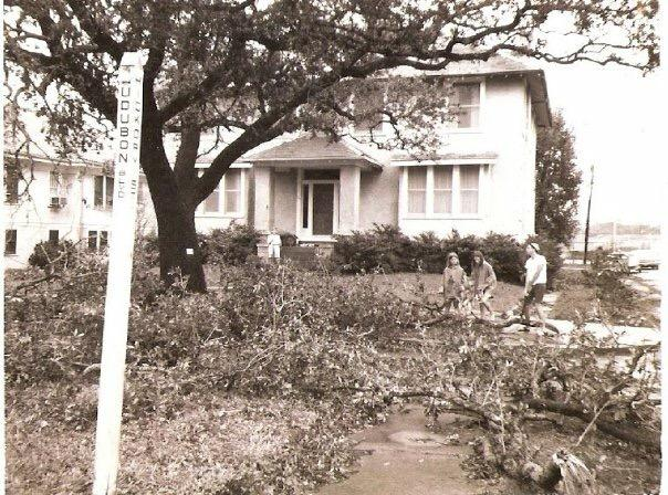 Mima & Papa's house after Hurricane Betsy http://t.co/5joXKXEBhd