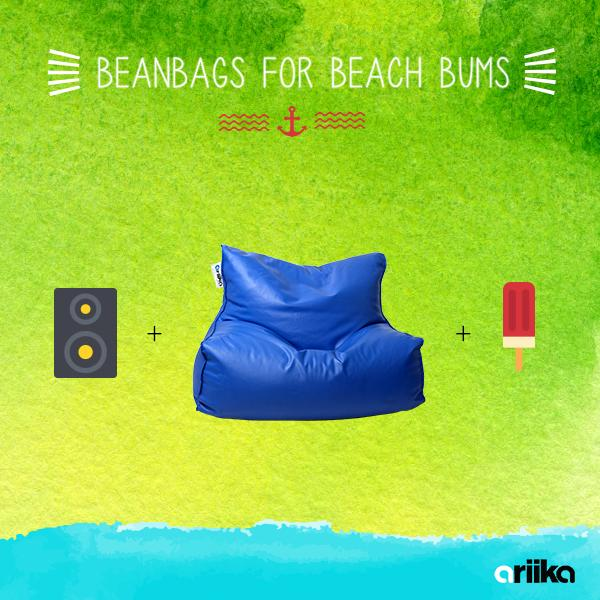 The beach bum life is one to aspire to. Just you, your beats and a beanbag big enough for three. #Sahel #ariika http://t.co/N3IPxHhdrI