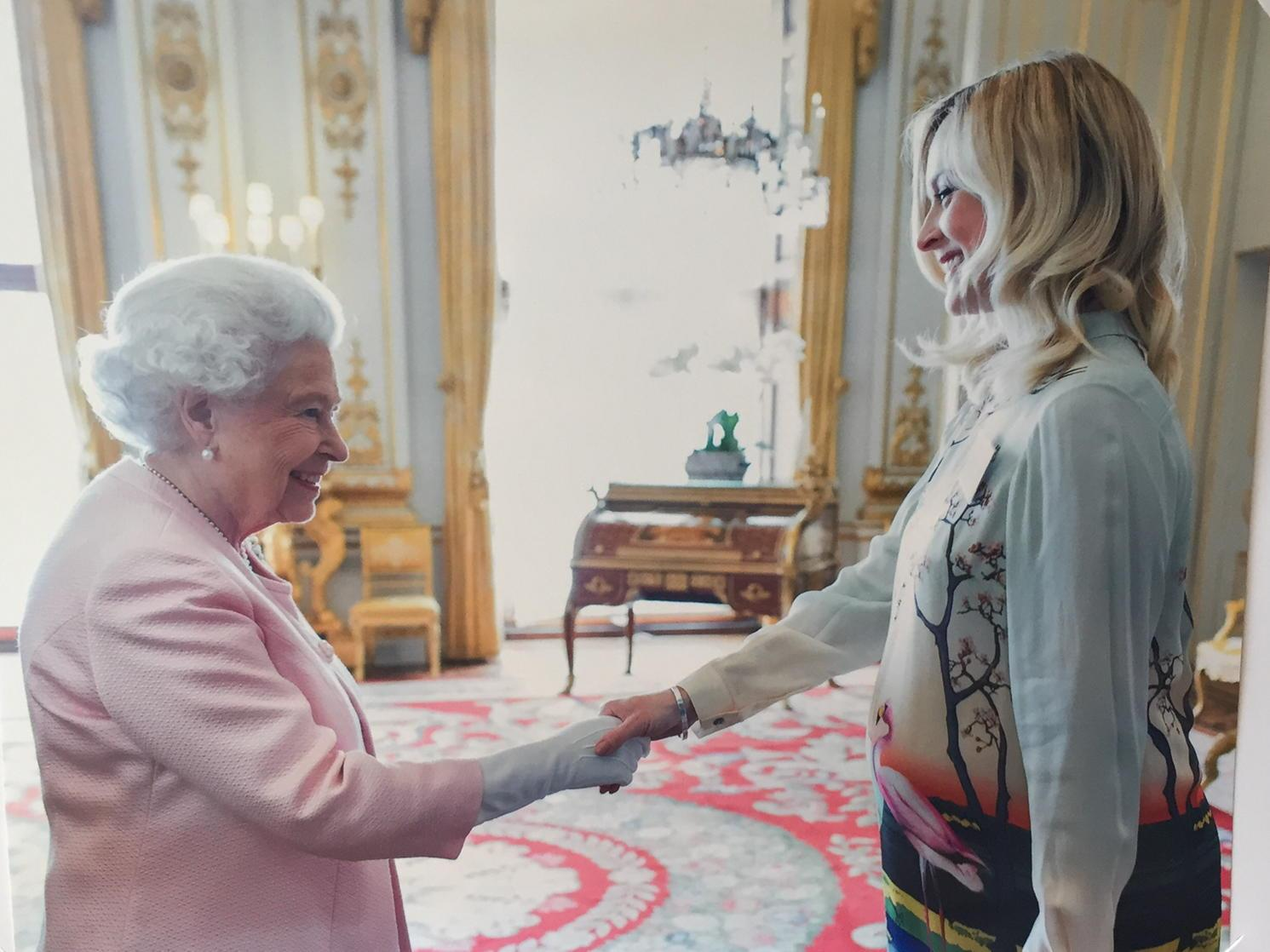 It was wonderful to be part of the young leader initiative and to meet the queen again earlier this summer. http://t.co/arylHqa3nR