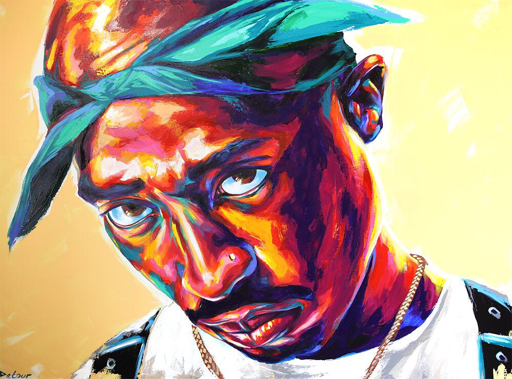 Close up of the #Tupac peace.  #art #acrylic #artist #artwork http://t.co/WTo9wpIy77