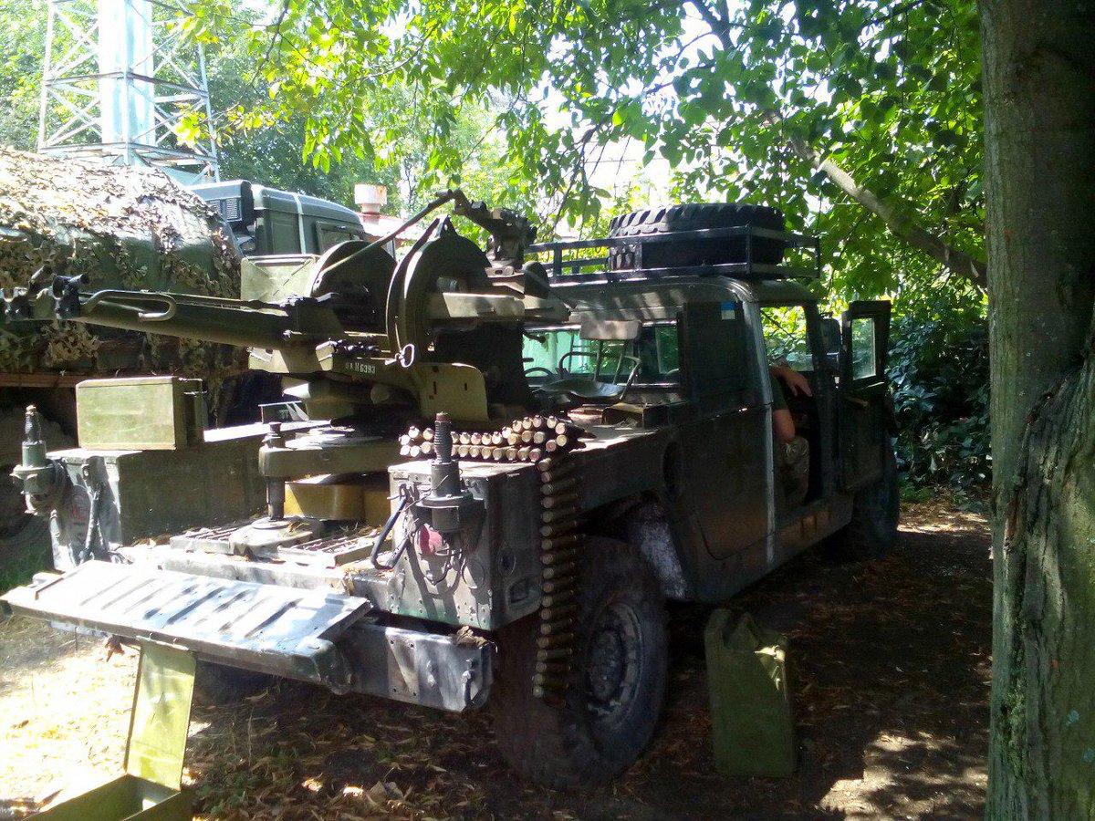 Ситуация на Донбассе остается стабильной. Возле Донецка боевики стреляли из артиллерии 122-мм, - пресс-центр АТО - Цензор.НЕТ 6171