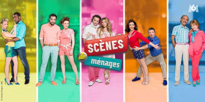 Sdm saison 7 in dite avec camille et philippe le nouveau couple qui rejoint la s rie du lundi - Camille scene de menage ...