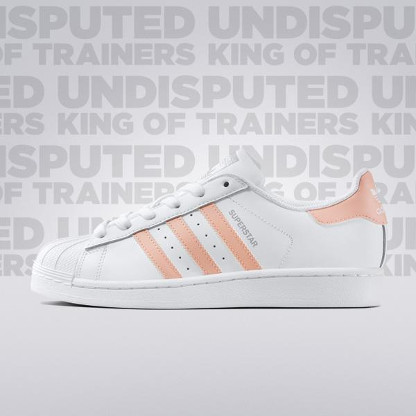 Adidas Superstar Slip On Pink Pastel