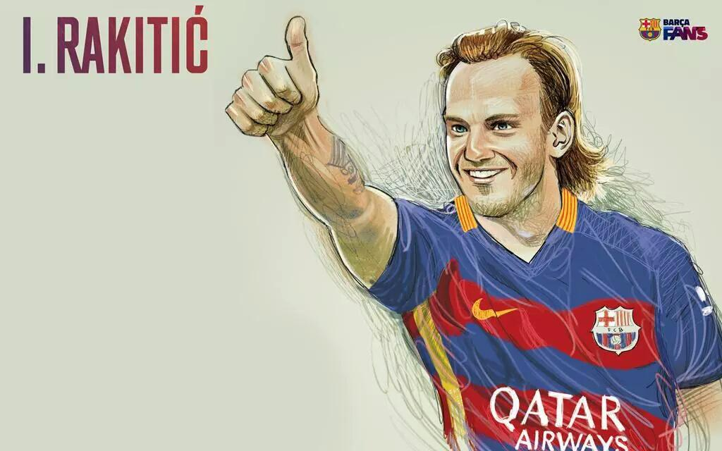 "Barca Galaxy On Twitter: ""Wallpapers Barca Fans: Rakitic, Rafinha, Sergi Roberto. Http://t.co"