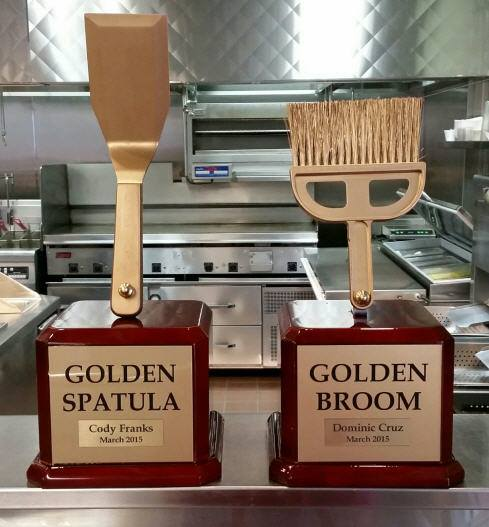 crowntrophynorthaust on twitter golden spatula and golden broom