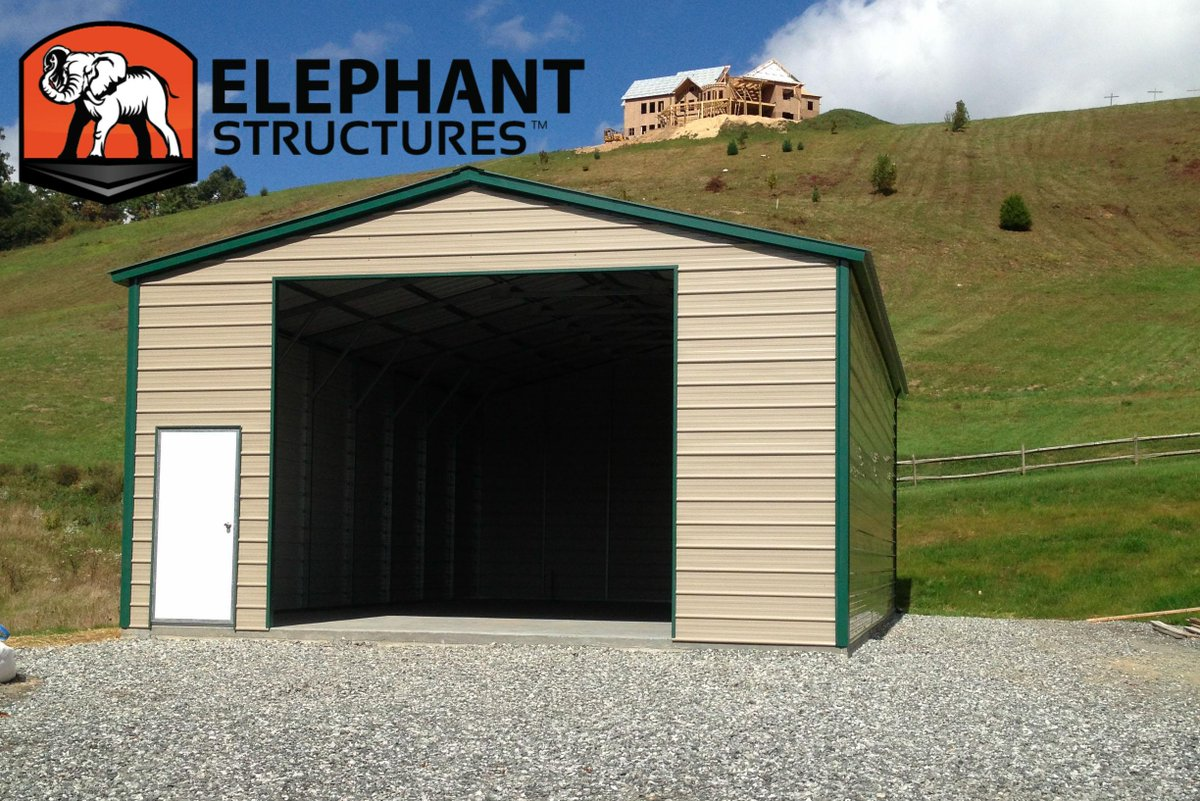 garage door step ideas - Elephant Structures carport