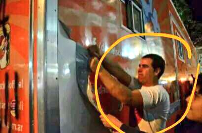 Repudio el violento ataque q sufrió la #CaravanaJoven en #Salta con @lapulgapetu @emialler @aldumeza http://t.co/xgVYWmQGeq