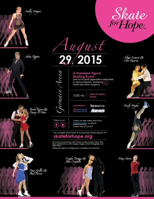 Can't wait for @skateforhope on Saturday! Get your ticket to raise $ for cancer research and enjoy a fantastic show! http://t.co/HbjJALSyo5