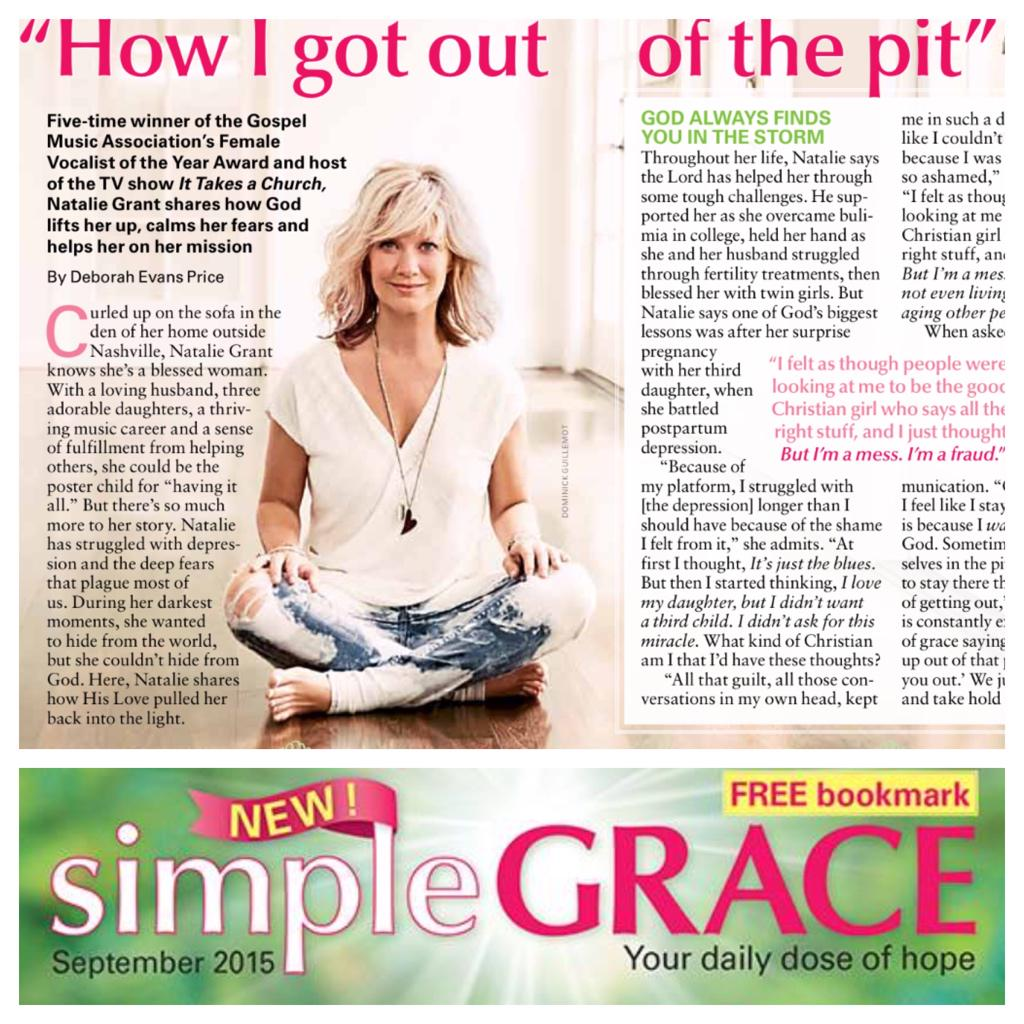 Natalie Grant On Twitter Thrilled To Be In New Publication