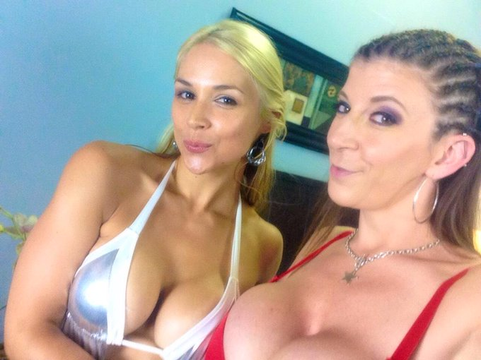 RT @SaraJayXXX: Did a FUN scene with @MsSarahVandella and @ralphlongxxx! Cumming soon ! http://t.co/NtH2o2Al2A
