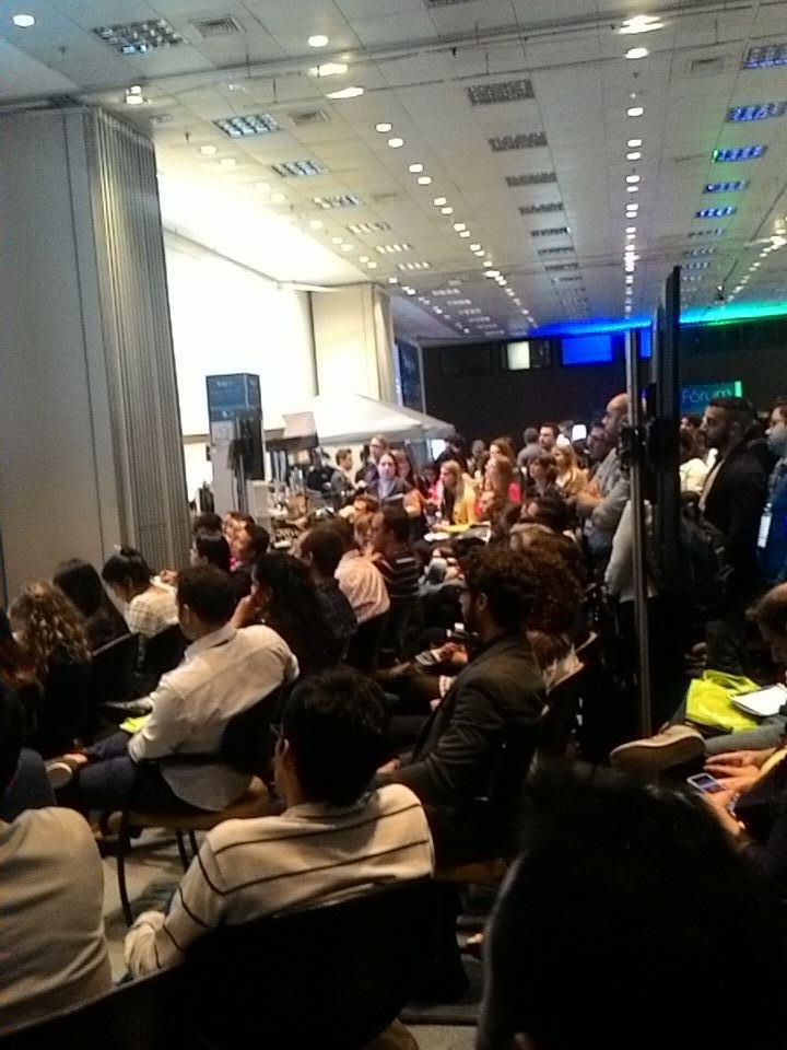 Seminário do @seoschultze lotado aqui no #Digitalks! Vem que ainda dá tempo! http://t.co/VLNJy8a8nM