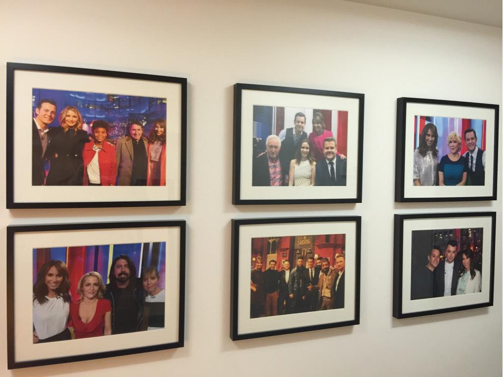If I practise and work hard one day I shall make the One Show Dressing Room Wall … http://t.co/ig70WpaQz7