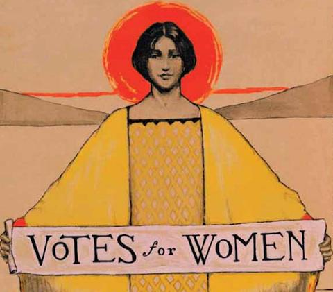 95 years ago US women obtained the right to vote. We've come a long way, let's take it farther! #WomensEqualityDay http://t.co/QBOb3mM5FN
