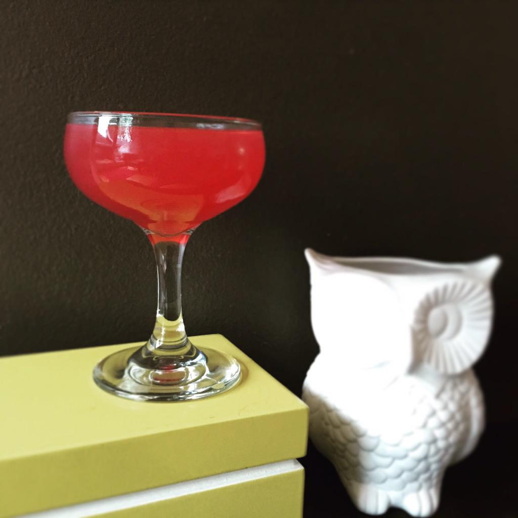wise old owl + rose martini...because a still life of reason meets passion is only logical way to begin #survivephd15 http://t.co/EL26HlBujz