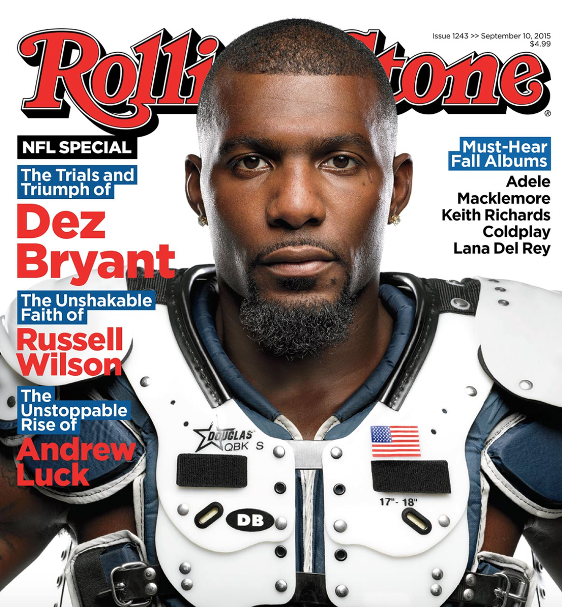 Dez Bryant S Rolling Stone Cover Lipstick Alley