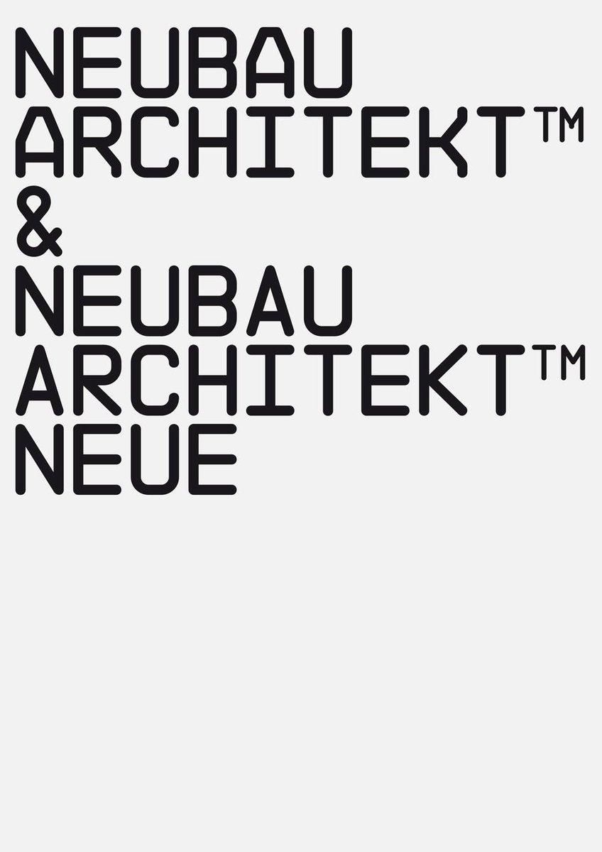 Neubau / Journal