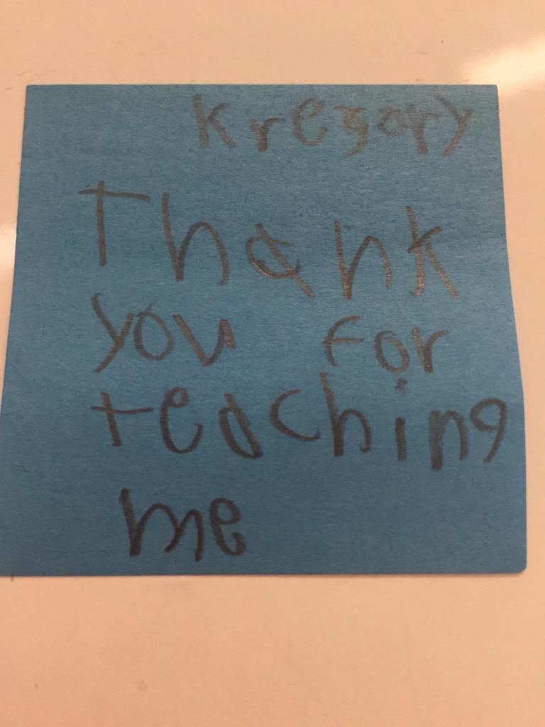 This note made my day @CamElementary #camlearns #lovemystudents http://t.co/nGIkYDSiYK