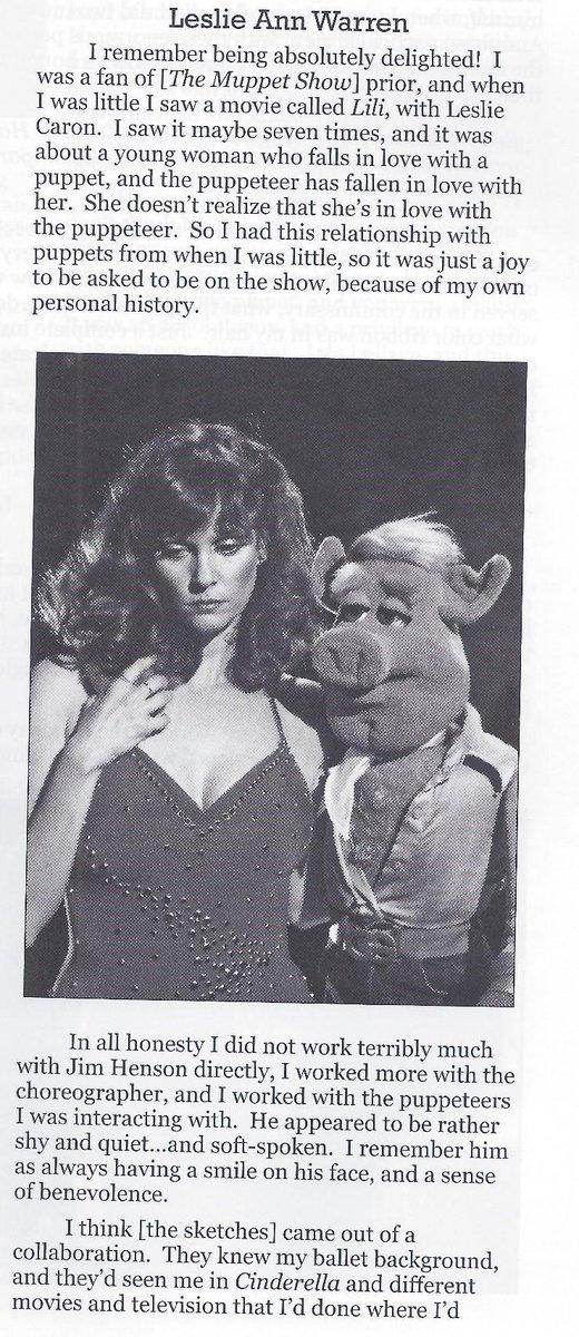 Leslie Ann Warren Muppets