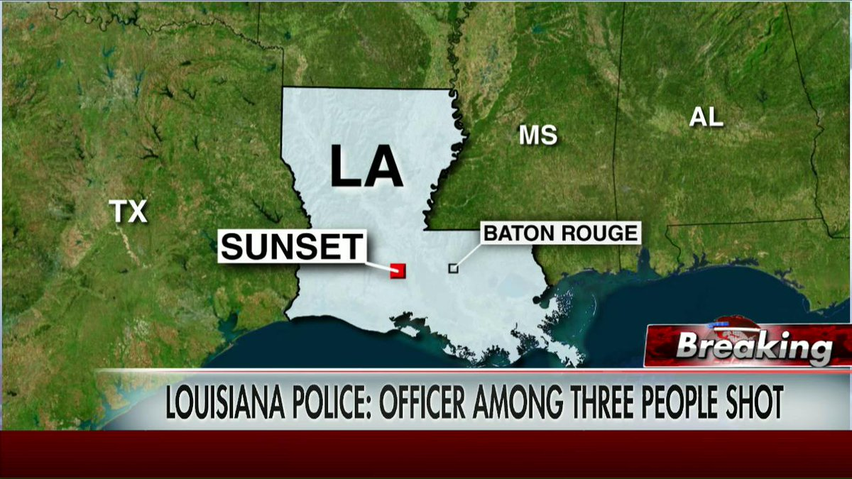 Sunset Louisiana officer killed in mini-mart standoff