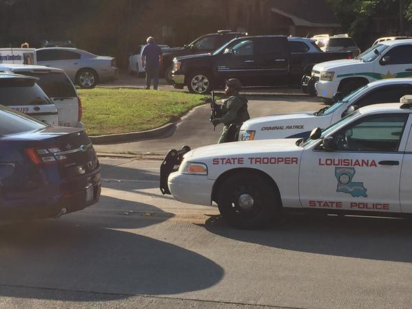Officer shot in Sunset Louisiana