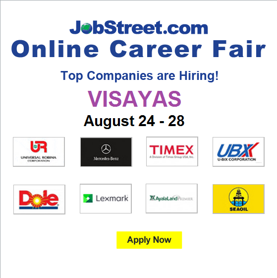 JobStreet Philippines On Twitter Get Your Visayas Job Now