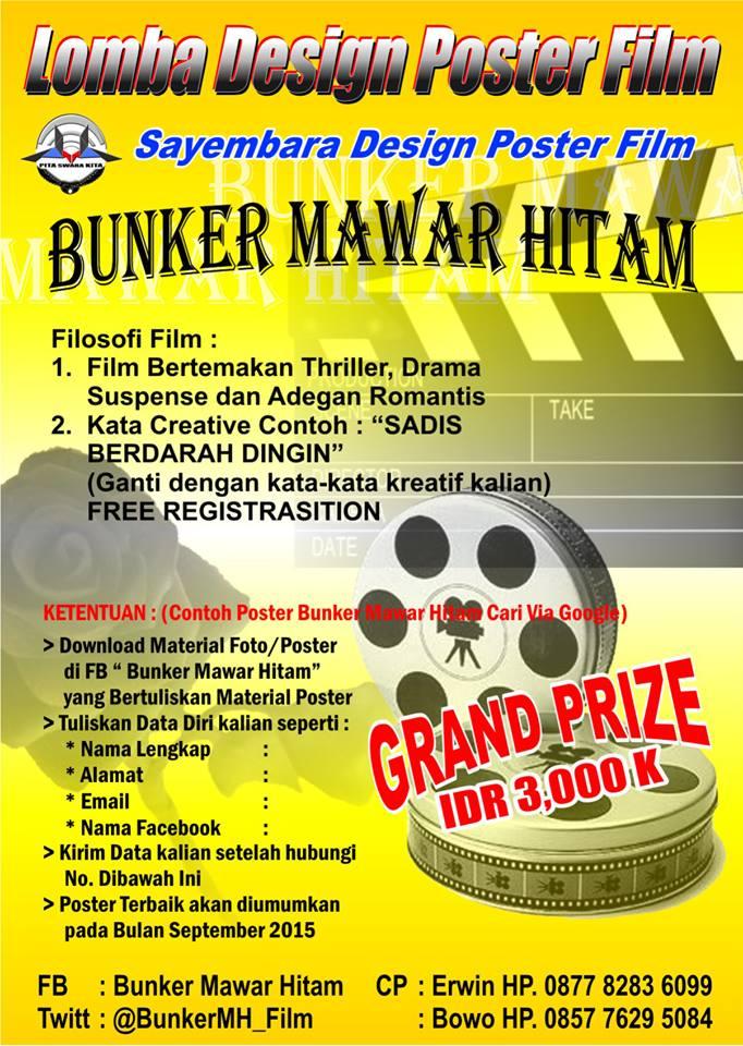 Bunker Mawar Hitam Auf Twitter Info Lomba Poster Untuk