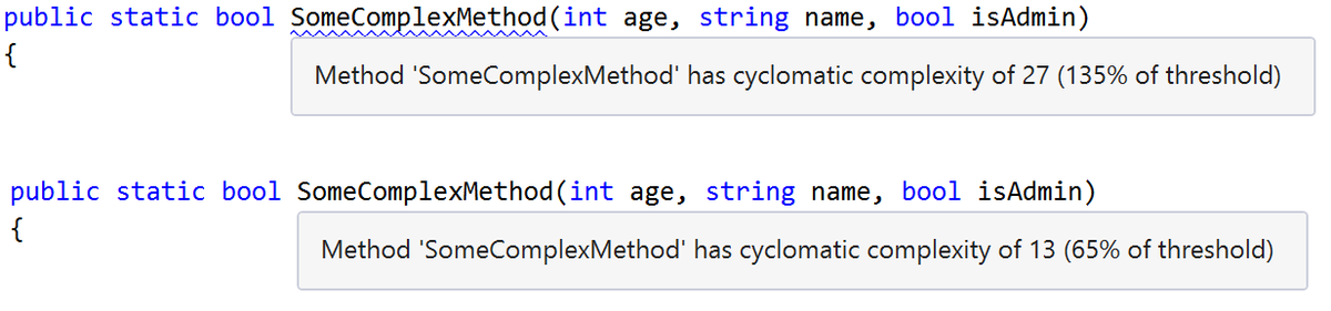 Get the cyclomatic complexity plugin for ReSharper 9.1 & 9.2. Supports C#, VB, JS, TS & C++! https://t.co/4sd4DKm7bm http://t.co/cvttoawTxF