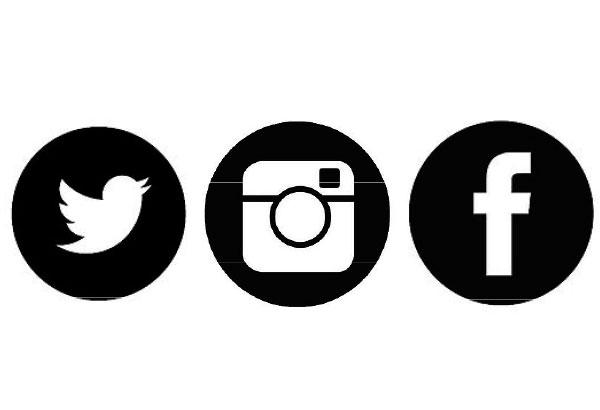 Black Instagram Icon For Facebook KOFUKU Japanese on Twi...