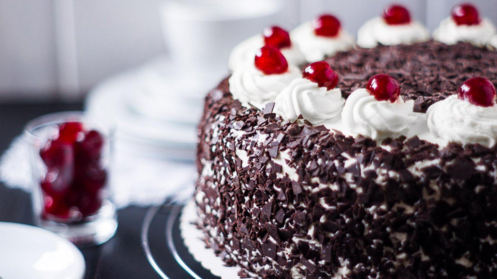 красиво, торт черный лес пошаговый рецепт с фото том