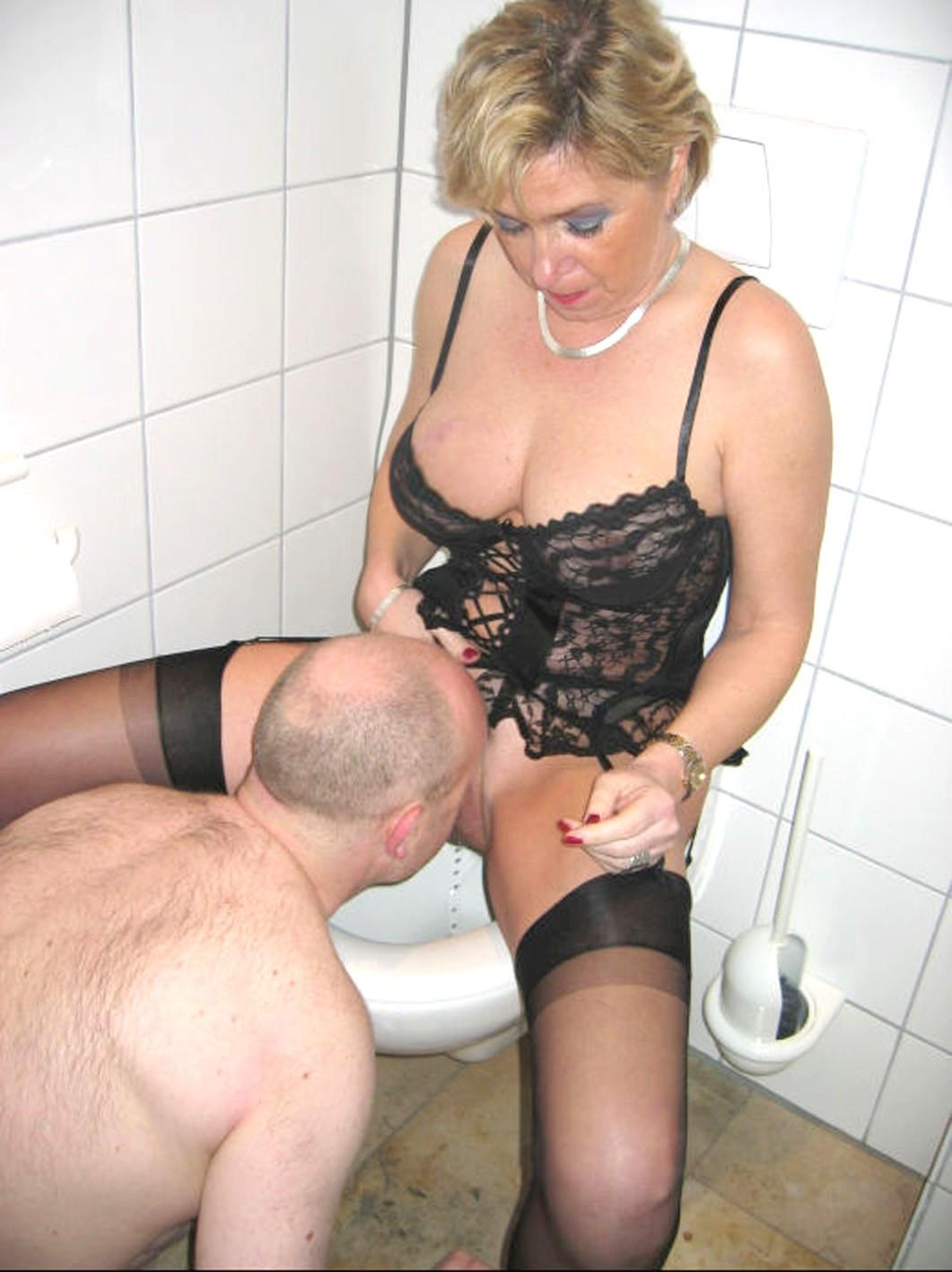2 horny wives rubber a guy with 2 cocks 5