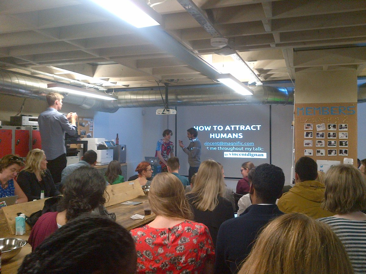 Informative #growthhacking talk by @vincentdignan the rebel #marketer: steal #content; harvest #emails; cold #contact http://t.co/jtVFqZ8AQm