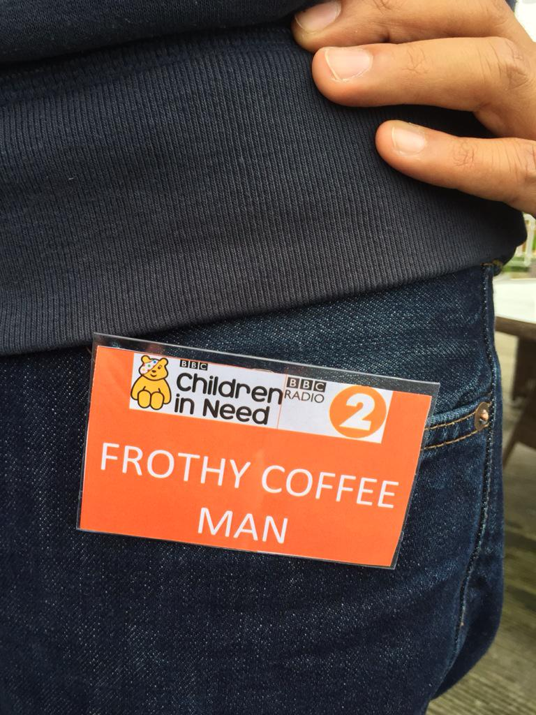 James Martin On Twitter Frothy Coffee Man At Bbcradio2
