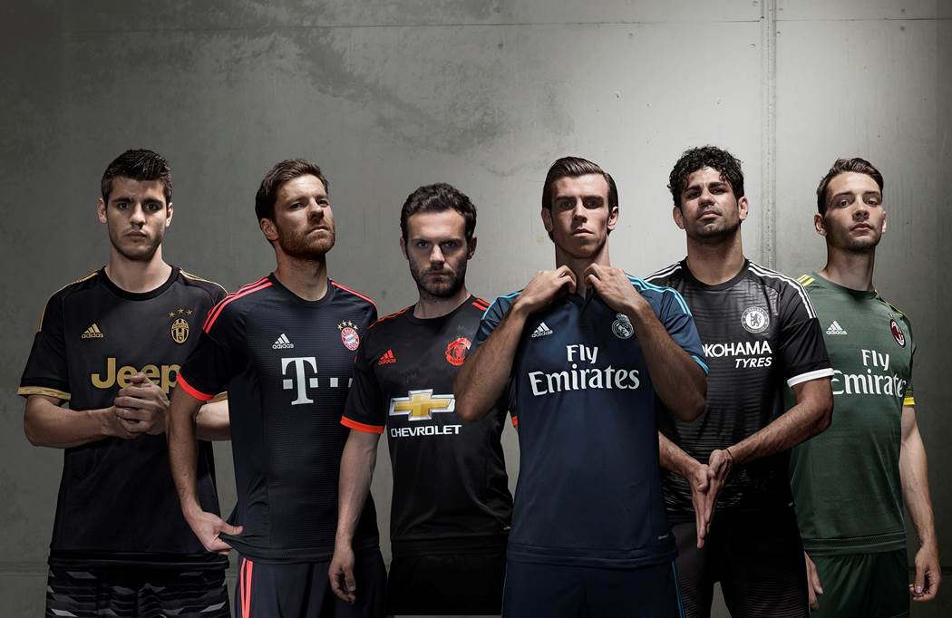 Giants of Europe wear three stripes. #BeTheDifference http://t.co/1ypnQ1H6Gl