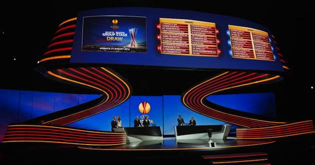 Sorteggi Europa League: info Streaming e Diretta TV Sky Live