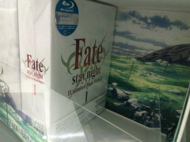 「Fate/staynight」BD-BOX・ufotable特典の収納BOX② どんな凝った仕様なの…。画像は現在調整中のもの。まだまだ色々とやりたいと担当者が申しております…。恐い。