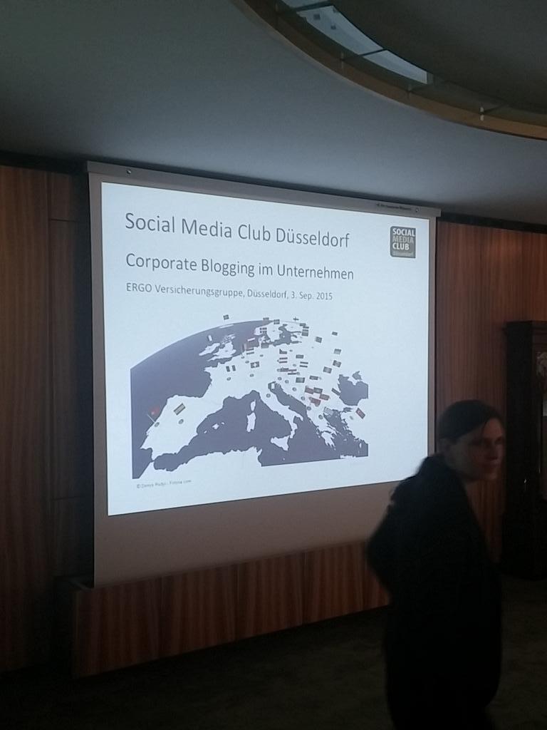 Gleich geht's los. Social Media Night @ERGODeutschland #smcdus http://t.co/EmJTyiKxHn