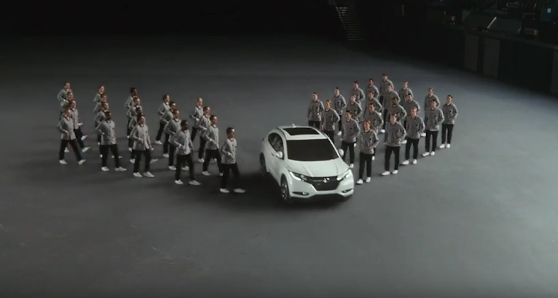 RT @MarketingWeekEd: Watch Honda's new campaign featuring the Japanese art of precision walking https://t.co/fx29T8iSzp http://t.co/oq21669…