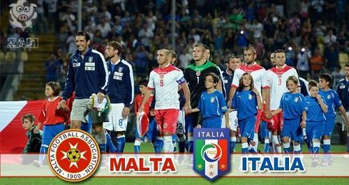ITALIA-Malta Risultato 0-0 Video: Pellé di testa al 69′