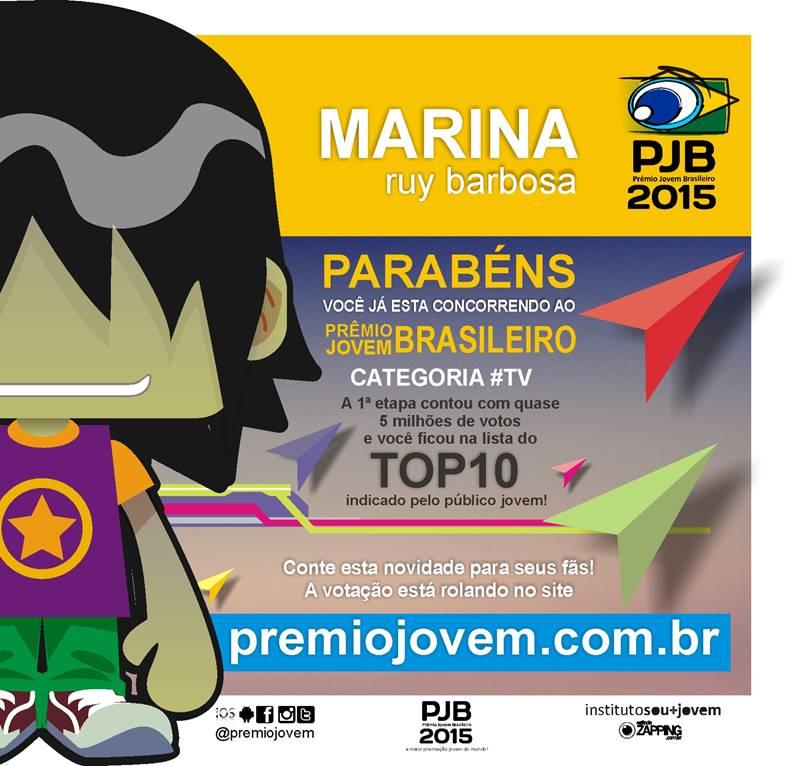 Marina Ruy-barbosa  - Vamos votar twitter @mariruybarbosa