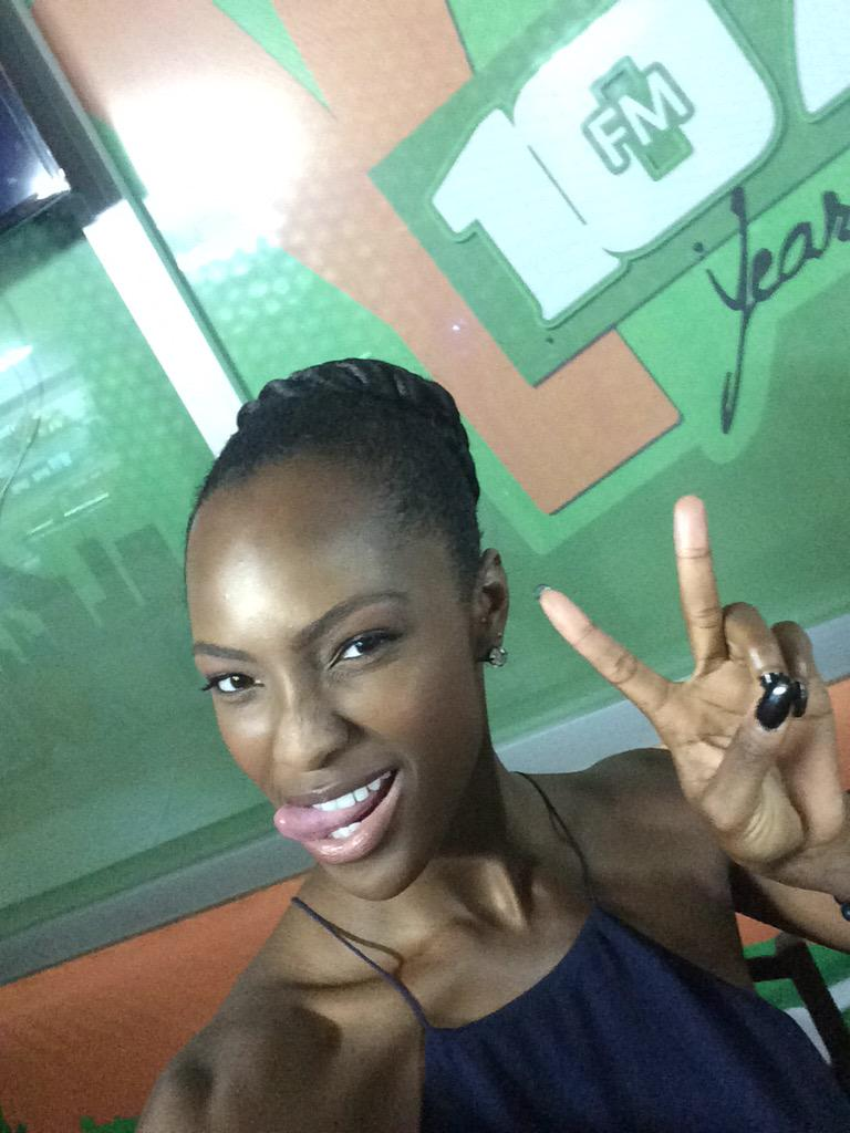 Mame Adjei  - Tune in peep twitter @MameAdjei4 ghana,silverbirdtheatre,mediatour,mameantm,antm